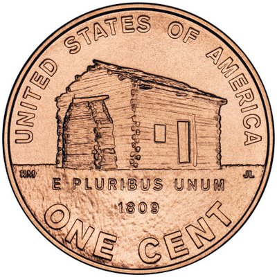 2009 Lincoln Cent Design - Birth and Early Childhood