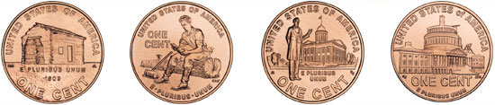 2009 Lincoln Cent Designs