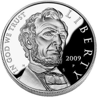 2009 Lincoln Commemorative Silver Dollar