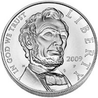 2009 Lincoln Commemorative Silver Dollar